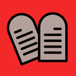 Logotipo do grupo de Leis e Mandamentos